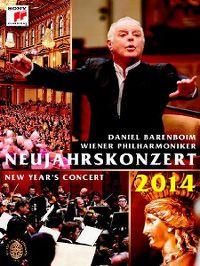 Cover Daniel Barenboim / Wiener Philharmoniker - Neujahrskonzert / New Year's Concert 2014 [DVD]